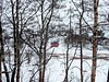 snow covered (ekelly80) Tags: norway flåm may2018 spring train trainride flåmsbana sognogfjordane fjord mountains view snow aurland white snowy trees throughthetrees red house snowcovered