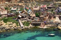 Popeye Village, Mellieha, Malta (Antonio Cinotti ) Tags: mellieha malta nikon nikond7100 d7100 sea seascape popeyevillage popeye nikon1685
