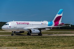 Eurowings D-AGWI (U. Heinze) Tags: aircraft airlines airways flugzeug haj hannoverlangenhagenairporthaj flugzeuge nikon planespotting plane eddv