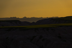 golden moment (mariola aga) Tags: badlandsnationalpark southdakota evening dusk sunset golden hills layers silhouettes landscape nature coth infinitexposure coth5 thegalaxy