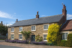 A Cottage in the Country (S Marwood) Tags: nationalpark northyorkmoors elements house cottage garden sky building architecture road coxwold home yorkshire canon canon700d