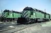 BN SD40-2 8019 (Chuck Zeiler) Tags: bn sd402 8019 8113 railroad emd locomotive clyde train chuckzeiler chz