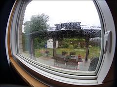 Finally Got A Bit Of Rain (Sue90ca Let The Holidays Begin :)) Tags: canon 6d fisheye lens window rain