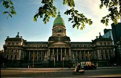 Palacio del Congreso de la Nacion Argentina (Martín Hache) Tags: architecture urban building arquitectura street sunset argentina buenos aires