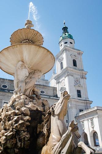 Salzburg 2018 - Domplatz