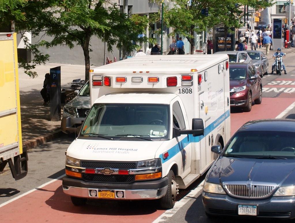 Lenox Hill Hospital Ems Ambulances Responding — VACA