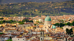 Florence, 2018(5) (S.R.Murphy) Tags: florence italy june2018 tuscany architecture urbanlandscape landscape buildings city firenze stuartmurphy fujifilmxt2 fujifilmxf55200mm leefilters leepolariser ricorboli