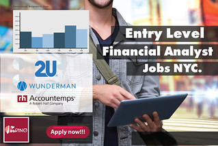 Entry Level Financial Analyst jobs NYC