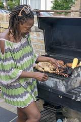 DSC_3632 Pela Zimbabwean Braai aka Barbecue Bush Hill Park London Borough of Enfield (photographer695) Tags: pela zimbabwean braai aka barbecue bush hill park london borough enfield chicken pork ribs sweet corn