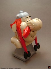 Obelix (ZetoVince) Tags: zeto vince zetovince lego moc comics asterix obelix gaul toy toys getafix idefix panoramix romans