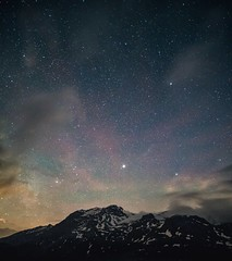 Moncenisio by night (erripollo) Tags: mountain stars night m43 olympus em5markii landscape nature wild photography alps