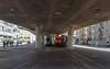 Shunting the mill: tram and shunter (5/5) (jaeschol) Tags: am843 am843057 dieselhydraulischelokomotive eisenbahn europa europe hardbruecke hardbrücke kantonzürich kontinent kreis5 lokomotive rangieren schweiz stadtzürich suisse swissmill switzerland transport chemindefer railroad railway