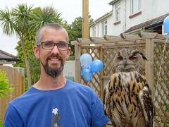 DSC07706 (guyfogwill) Tags: 2018 adamfogwill birds brandonsbirthday devon eurasianeagleowl gbr guyfogwill may owls paignton unitedkingdom paigntontorquay