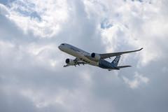Berlin Air Show / ILA 2018: Airbus A350-941 A359 F-WWCF (kevin.hackert) Tags: berlinairshow luftfahrtausstellung ber expocenter raumfahrtausstellung berlin berlinschönefeld flugzeug fachmesse sxf raumfahrt jet eddb ila rollfeld fahrzeug flughafen luftfahrt boden