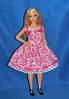 Pink Floral Curvy (toomanypictures1) Tags: ooakclothes barbie francie curvy reproduction american girl made move mattel
