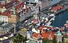 Norway: Bergen, Fløyfjellet city view (Henk Binnendijk) Tags: bergen norway noorwegen tyskebryggen bryggen hanseatic hordaland fløyfjellet fløyen funicular fløibanen