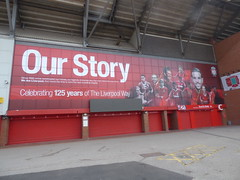 Liverpool FC Anfield Stadium Walkaround Liverpool May 2018 N (symonmreynolds) Tags: liverpoolfc anfieldstadium walkaround football soccer ynwa youllneverwalkalone liverpool may 2018
