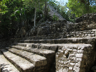 Mayan Temples in the Jungle