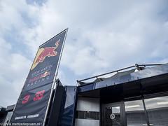 2018 Barcelona F1 test: Red Bull motorhome (8w6thgear) Tags: 2018 formula1 f1 barcelona test redbullracing astonmartin motorhome