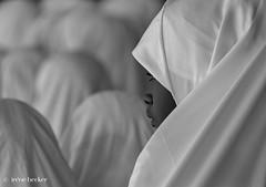 (Irene Becker) Tags: africa csildrensday imagesofnigeria kaduna kadunastate nigeria nigerianimages nigerianphotos northnigeria queue westafrica hijab northernnigeria schoolgirls kwarau education