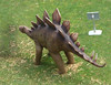 Dinosaurs in Central Square, Brindleyplace - baby Stegosaurus (ell brown) Tags: birmingham westmidlands england unitedkingdom greatbritain brindleyplace centralsquare dinosaur dinosaurs stegosaurus dippyontour brunswickst brunswicksquare carpark brindleyplacecarpark rooflevel level7