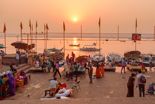 Sunrise Of Sun...Varanasi