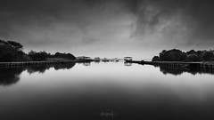 Stormy monday (RuiFAFerreira) Tags: beauty black blackwhite bw wide white waterscape monochrome pateira fermentelos efs1018mmf4556isstm exterior landscape silhouette stormy water mood dark