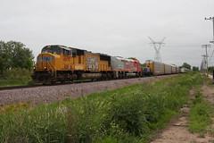 Special delivery (gsebenste) Tags: unionpacific up santafe atsf trains illinoisrailwaymuseum union illinois