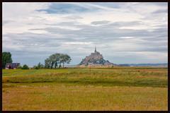 landscape (ibarenogaray) Tags: mont saint michel normandie france paisaje campo