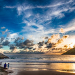 Sunset at Nai Harn beach           XOKA6731s-h thumbnail
