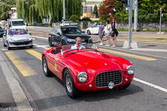Ferrari 166 MM (Nico K. Photography) Tags: ferrari 166 mm classic supercars red rare nicokphotography switzerland zürich