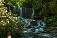 Virginia Hawkins Falls-2 (j5brock) Tags: canon 5dsr zeiss otus blue ridge mountains north carolina parkway waterfall virginia hawkins falls long exposure