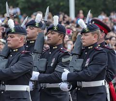 Pomp and Military Ceremony (acase1968) Tags: changing royal guard london england black beret bayonet buckingham palace nikon d500 nikkor 70300mm prince wales regiment