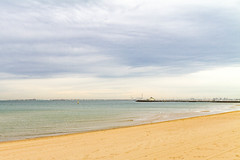 Looking towards Williamstown from St Kilda, Victoria (golferdave2010) Tags: 2018 autumn australia may