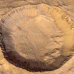 Crater in Terra Sirenum on Mars thumbnail