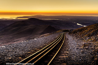 Y Lliwedd ridge walk, Snowdon