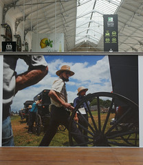 Photograph of Amish men in the United States - Gare Saint Lazare, Paris (Monceau) Tags: photograph amish men americans farmers garesaintlazare