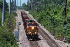 BNSF 4344 (CC 8039) Tags: bnsf trains ac44cw es44ac searchlight signal webster groves missouri