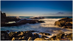Basalt and Blue.. (e0nn) Tags: steveselbyphotography steev steveselby ricoh pentax pentaxk1 hdpentaxdfa2470mmf28edsdmwr luminar2018 skylum kiama slowshutter nisifilters nisi zomei ocean water waves