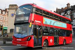 IMG_4184-080618 (andrewcolebourne) Tags: london londonbus transportforlondon metroline willesdengarage ac route260 goldersgreen volvo b5lh wright gemini vwh2388 lk67elo