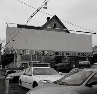 Chuck Bleeg Motors, Portland, Oregon