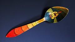 Another Konya spoon (nic*j) Tags: turkey turkish crafts konya mevlevi wood wooden carved