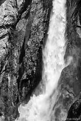 Yosemite Valley - Lower Yosemite Fall_4855_B&W (www.karltonhuberphotography.com) Tags: 2018 abstract aweinspiring bw blackandwhite california cliffface closeup details flowingwater isolation karltonhuber landscape loweryosemitefall nature powerful roaring thundering verticalimage water waterfall yosemite yosemiteconservancy yosemitenationalpark yosemitevalley yosemiteconnect