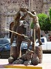 Statue dedicated to tequila distillery and agave farm workers (posterboy2007) Tags: tequila mexico distillery agave statue principalplaza