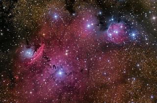 NGC6559 & IC1274 - LRGB