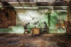 Anxiety (Photonirik) Tags: urbex decay urban exploration oblivion abandoned abandonné oubli forgotten ue dust