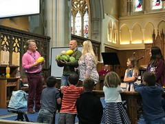How fruity is your father?! Father's Day service.