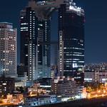 Full view of Umeda Sky Building (梅田スカイビル)