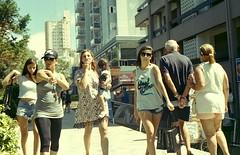 Calle (mavricich) Tags: calle color gente costa película pinamar playa people lomography rangefinder olympus