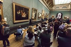 Studieren (tan.ja1212) Tags: museum london studenten zeichnen malen bilder paint pictures